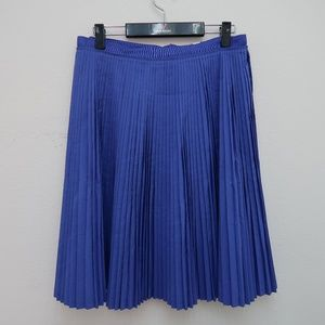 Womens Banana Republic Pleated A-Line Skirt Size 8